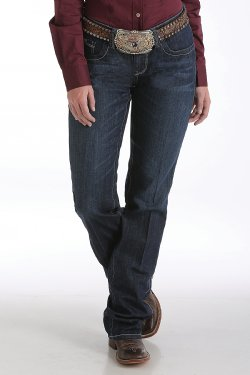 CINCH - Women's Ada Relaxed Fit August Dark Stonewash Jeans #MJ80252072