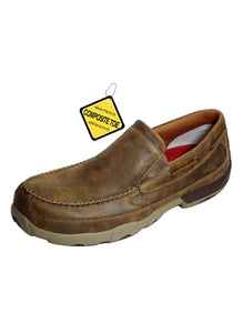 TWISTED X - Men's Slip-on Driving Moccasins #MDMSC03