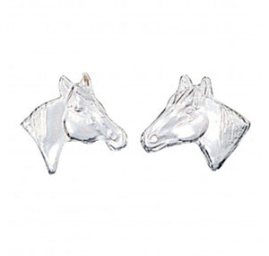 MONTANA SILVERSMITHS - Little Silver Horse Head Earrings #ER41