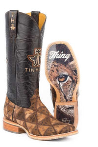TIN HAUL - Women's Wild Thing/Cheetah Sole Boots #14-021-0007-1326