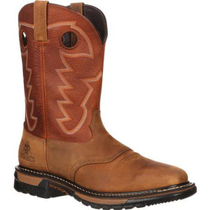 ROCKY BOOT - Men's Rocky Original Ride Waterproof Western Boot #RKYW039