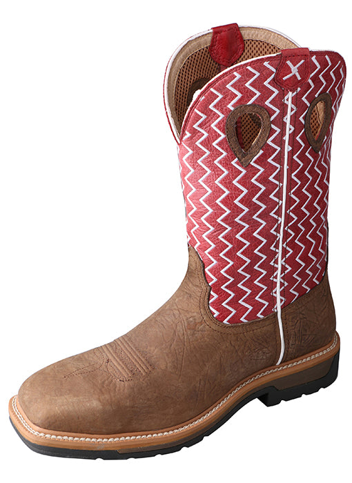 TWISTED X - Men's Lite Cowboy Workboot #MLCS001