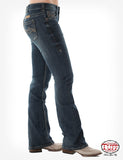 COWGIRL TUFF - Women's Original Don't Fence Me In Dark Wash Jeans #JDARKW