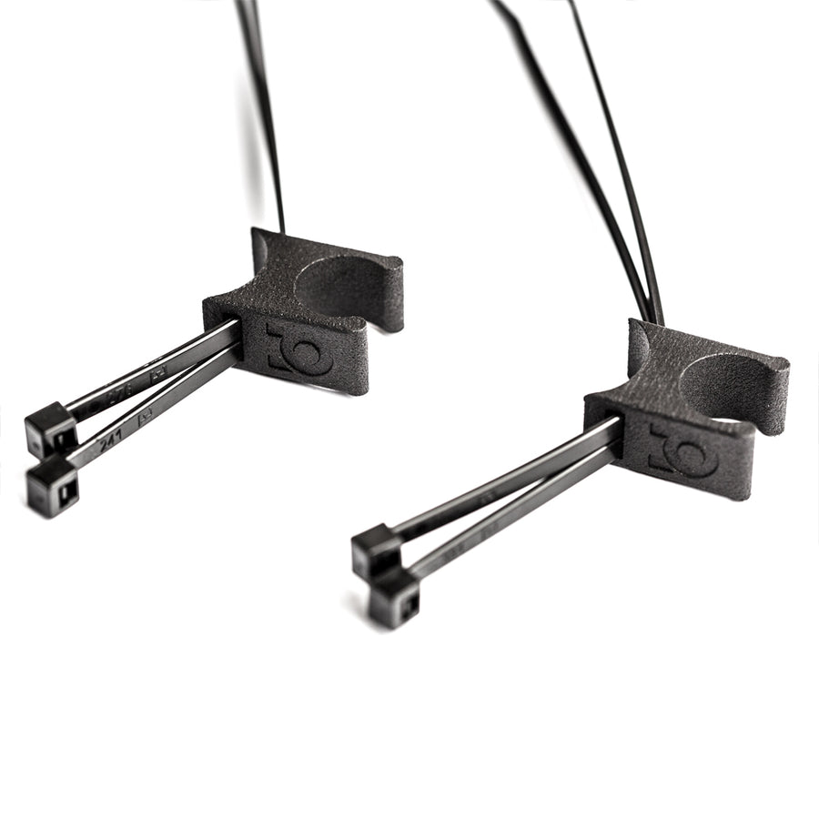 Cable lock clamp mount bike lock