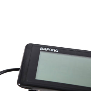 Bafang E-Bike LCD Display Black UNI Moke
