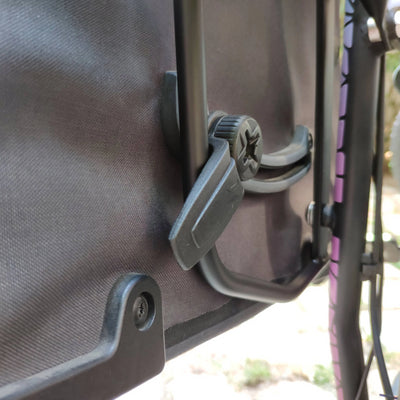 Universal Sattlebag Pannier Bag Mount Adapter for UNI Moke / Swing