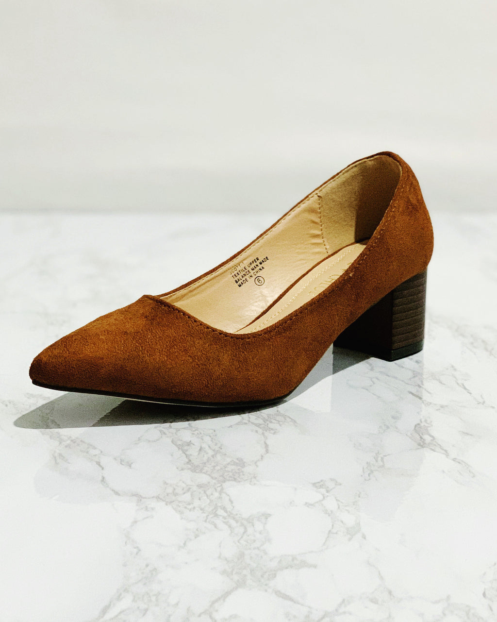 Brown Pointed Toe Pumps - Blackbird Boutique