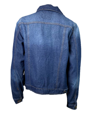 Basic Dark Denim Jacket