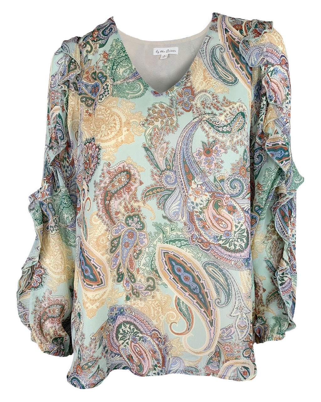 Paisley Long Sleeve Blouse