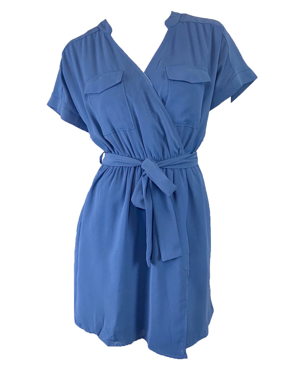 Sweet Talkin' Dress in Vintage Blue