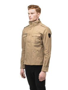 Men's waist length military style jacket in Cork.