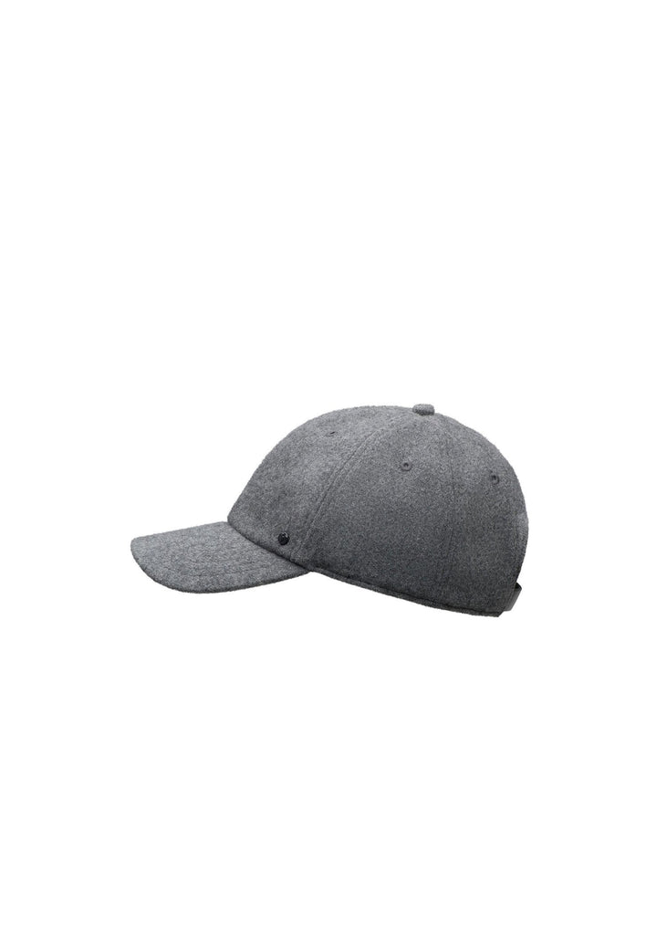 Six panel baseball cap in H. Grey| color