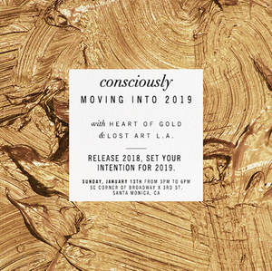 Consciously Moving Into The New Year with Heart of Gold