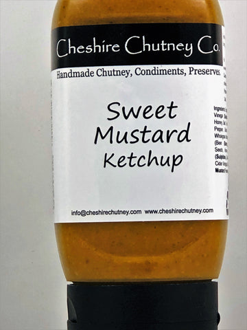 Sweet Mustard Ketchup 300ml (Plastic Squeezy)