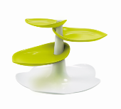 Zak! Sweety Cake Stand S, White/Green, In Gift Box