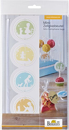 Birkmann Mini Cellophane Bag, Vintage Memories (8-Pcs)
