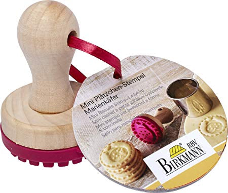 Birkmann Mini Cookie Stamp, Ladybird