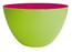 Zak! Duo Salad Bowl 22cm, Green/Raspberry