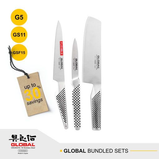 Global G-5, GS-11 & GSF-15 Bundled Sets
