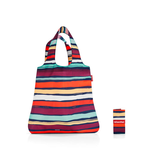 Mini Maxi Shopper Artist Stripes