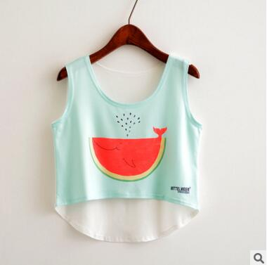 Crop Top Summer Tank