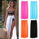 Beach Maxi Wrap Skirt
