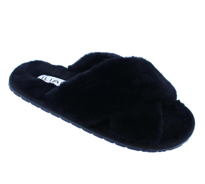 Dearly Slipper Black