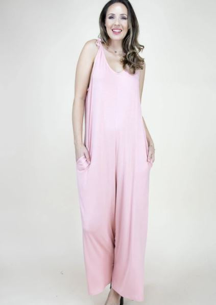 Jasmine Jumpsuit Rose