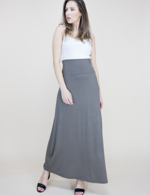 Imogen Skirt Dusty Olive