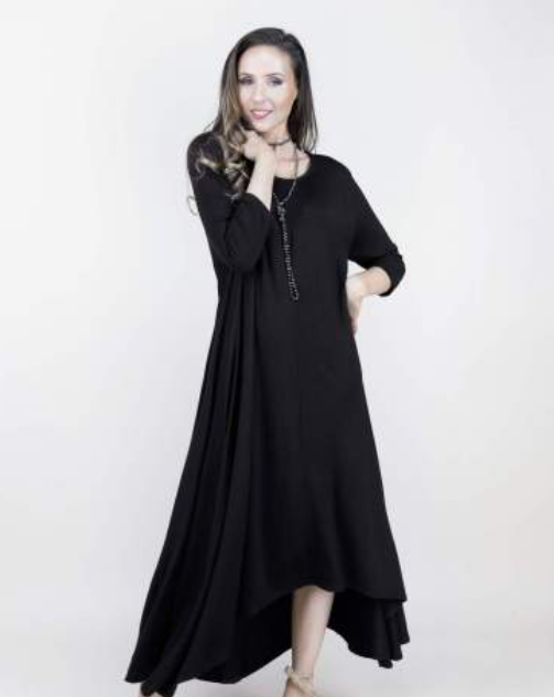 Emerson One-Size Fits All Dress Black