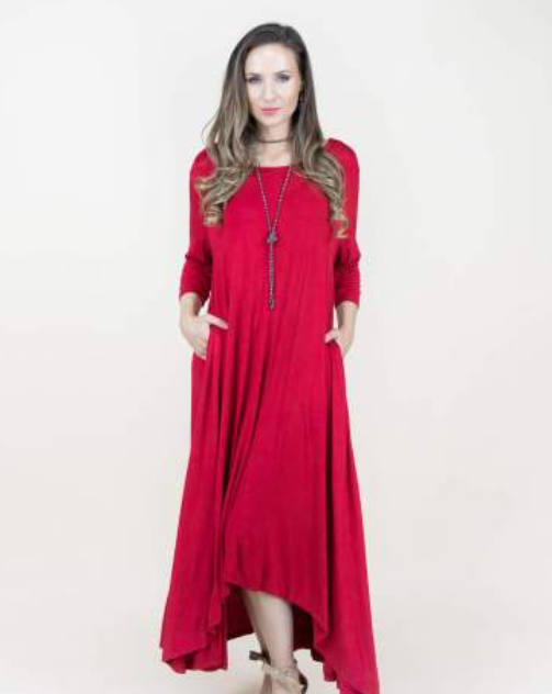 Emerson One-Size Fits All Dress Red