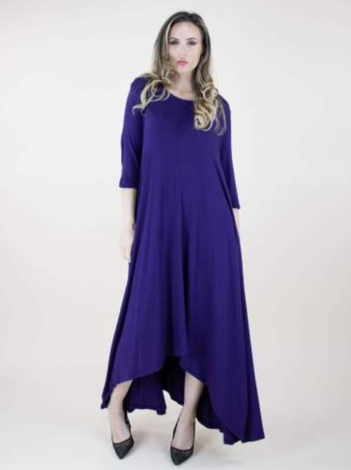 Emerson One-Size Fits All Dress Purple