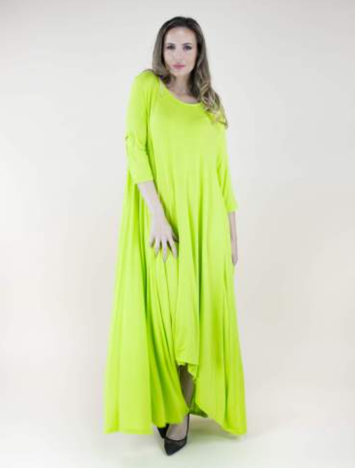 Emerson One-Size Fits All Dress Neon Lime