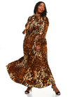 Jungle Fever Print Dress