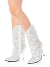 Jeffrey Campbell Studlet White
