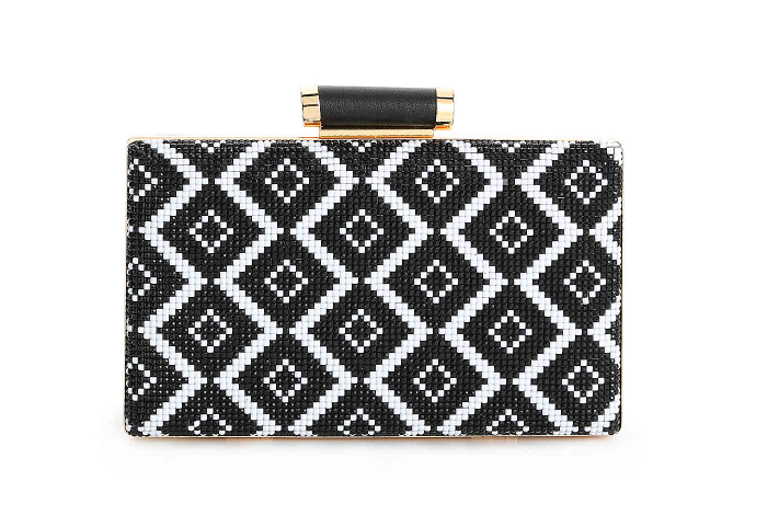 Bora Bora Clutch Black/White