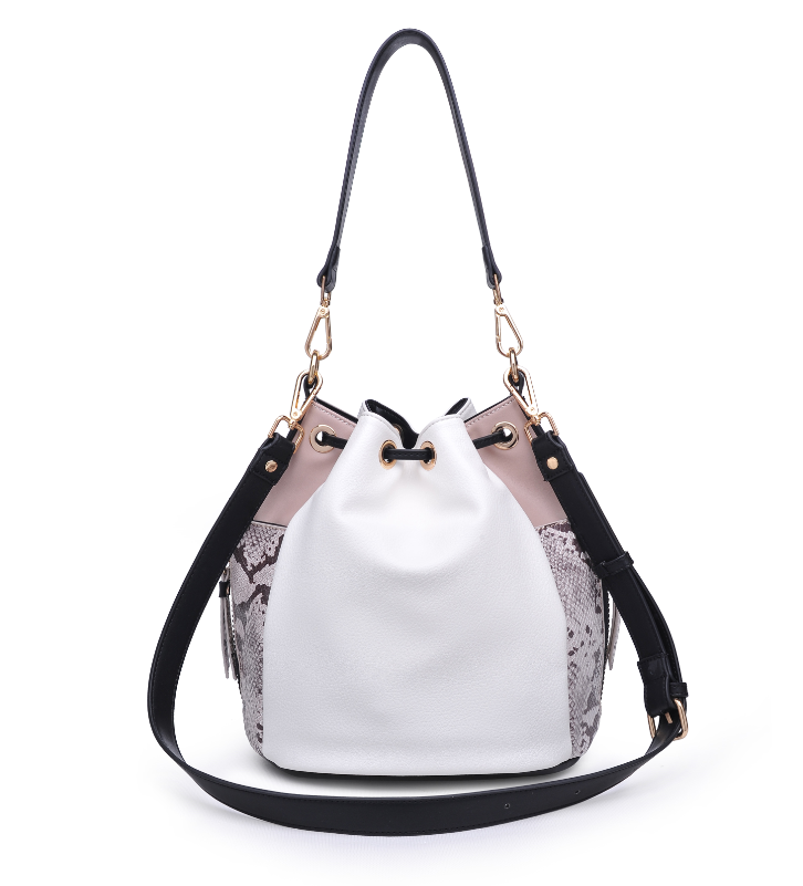 Beau Bag White Multi