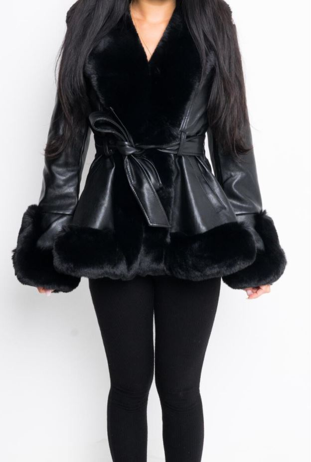 Kenzy Coat Black