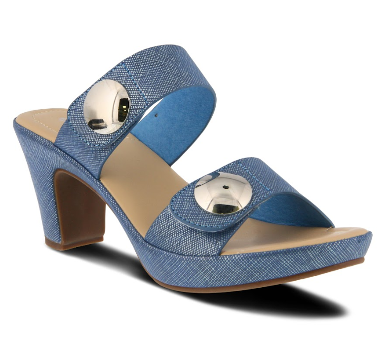 Patrizia by Spring Step Slidedade Blue