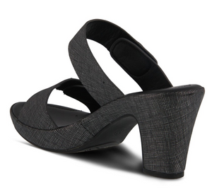 Patrizia by Spring Step Slidedade Charcoal
