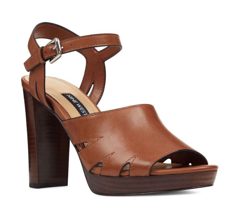 Nine West Deliah Cognac/Tan