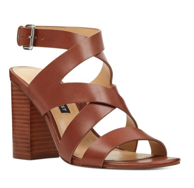 Nine West Sophia Cognac/Dark Natural