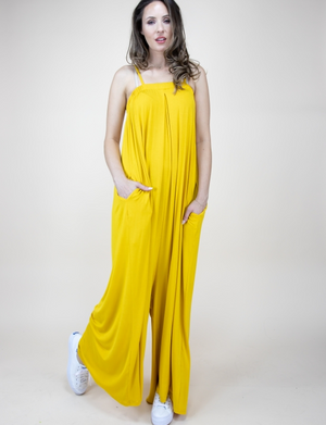Rosie Jumpsuit Yellow Gold