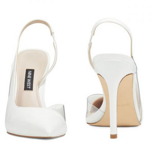Nine West Toffee White