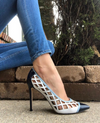 Nine West Tatum Blue Combo