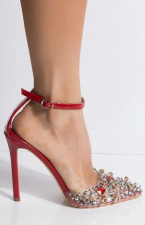 Popstar Red Patent