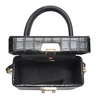 Zoey Mini Bag Black Croc