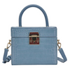 Zoey Mini Bag Blue Croc