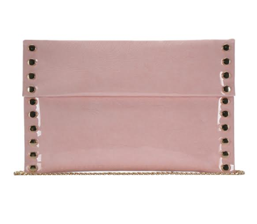 Large Envelope Clutch Blush