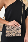 Ella Crossbody Natural Snake